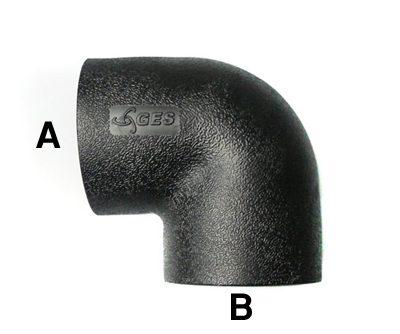 hdpe socket fusion elbows