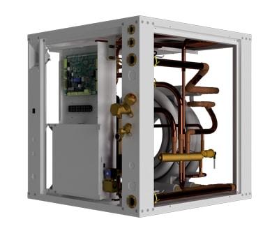 Air to Water air-source heat pump