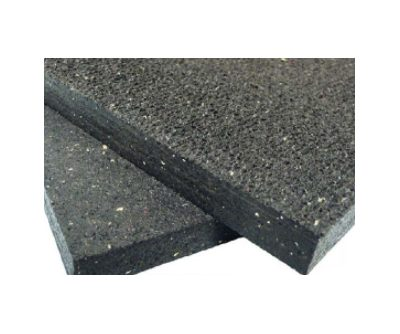 Anti vibration rubber underpath